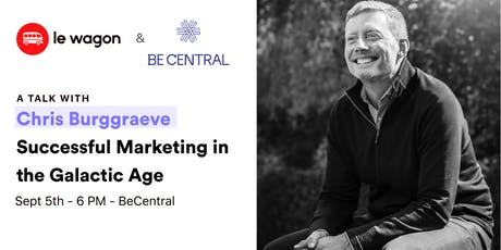 Talk with Chris Burggraeve : Successful Marketing in the Galactic Age tickets
