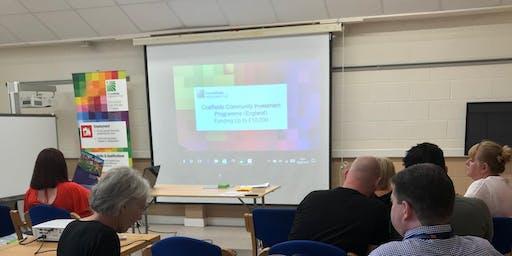 Google Digital Training & Coalfields Regeneration Trust Funding Workshop - Sunderland