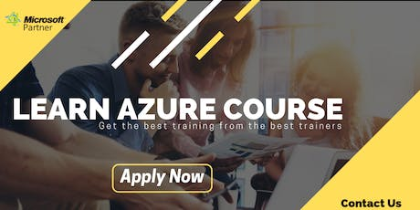 Attend the Free Demo On Azure Training in Delhi tickets