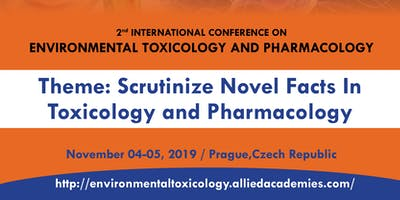 2nd International Conference on Environmental Toxicology and Pharmacology
