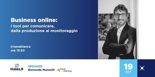 Business online: i tool per comunicare, dalla produzione al monitoraggio
