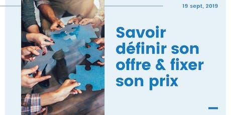 Atelier Formation #Paris | Savoir définir son offre & fixer son prix | Links Consultants  billets