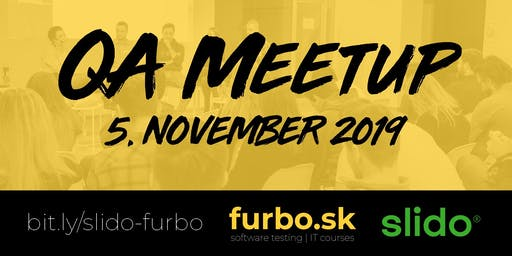 QA meetup furbo + slido