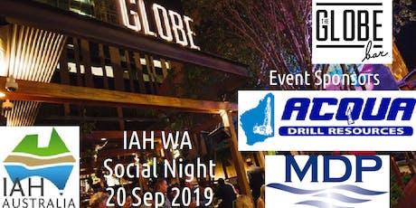 2019 IAH WA Social Night tickets