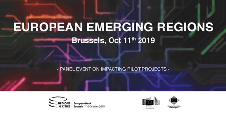 EUROPEAN EMERGING REGIONS event on impacting pilot projects billets
