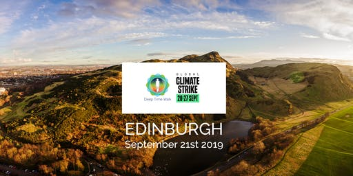 Global Climate Strike - Edinburgh Deep Time Walk