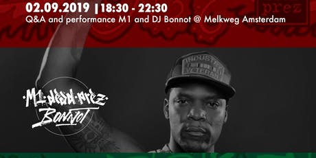 Bigger Than HipHop - Powertalk & Performance with M1 (dead prez) tickets