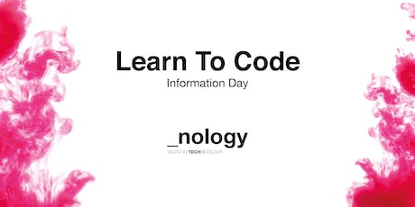 Learn To Code: Information Day tickets