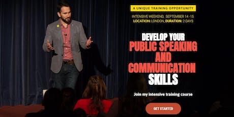 Maximum Value Public Speaking and Communication Training Course tickets
