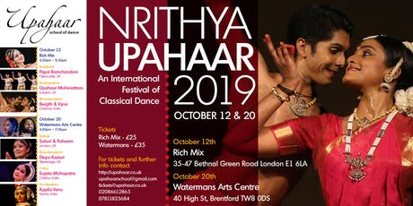 NRITHYA-UPAHAAR 2019 Day 1 tickets