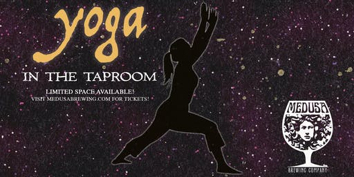 YOGA! in the Taproom - 9/28