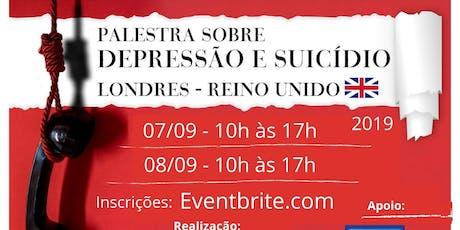 Palestra de conscientizacao sobre Depressao e Suicidio tickets