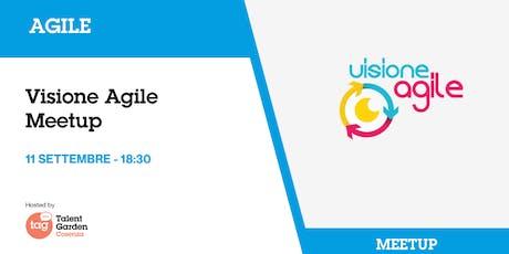 Visione Agile meetup biglietti