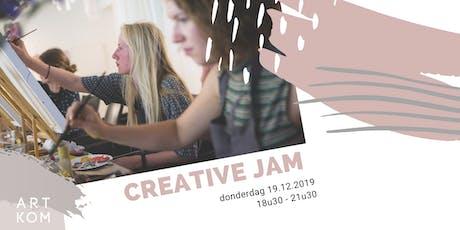 Creative JAM tickets