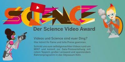 Der Science Video Award - Anmeldung Schüler*innen
