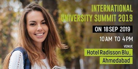 International University Summit  - Sep 2019, Ahmedabad tickets