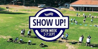 Show Up Open Week - 2-7 Sept