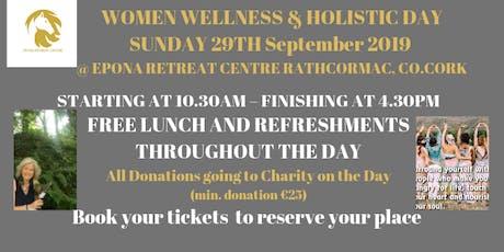 Women Wellness & Holistic Day tickets