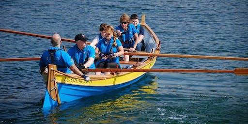 Saturdays morning social rowing first session at 0930