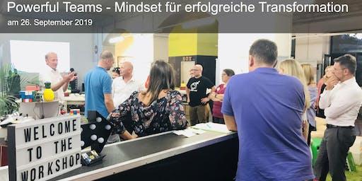 After-Work-Shop: Powerful Teams - Mindset für erfolgreiche Transformation