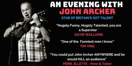 A Night of Magic with John Archer tickets