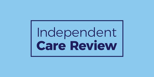 Independent Care Review - event for parents and families