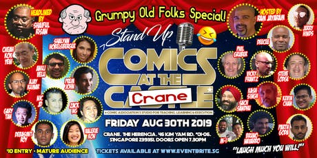 Stand Up Comics at the CRANE tickets