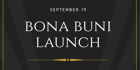 Bona Buni Launch! Tickets