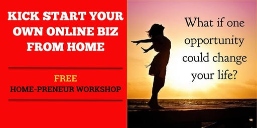 Kick Start Your E-Commerce Business Workshop