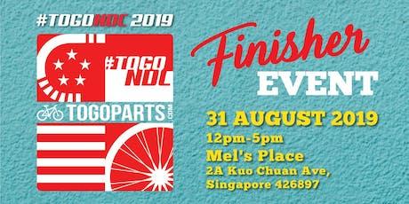 TOGONDC  2019 (Singapore) Finisher Event tickets