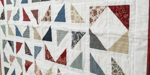 Patchwork and Quilting Workshop 7/12/19 £30 10-1pm