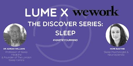 Discover: Sleep tickets