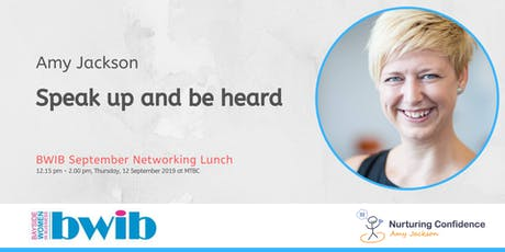 BWIB Networking Lunch - Speak up and be heard tickets
