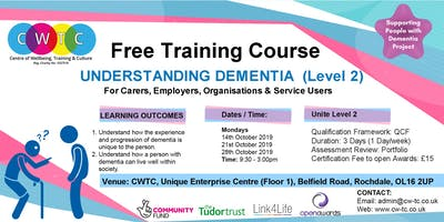 Understanding Dementia (Level 2)