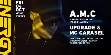 A.M.C , Upgrade , Mc Phantom & Carasel tickets