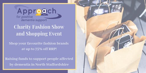 LADIES CHARITY FASHION SHOW FOR APPROACH DEMENTIA SUPPORT