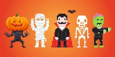 Design Your Own Halloween Pixel Art