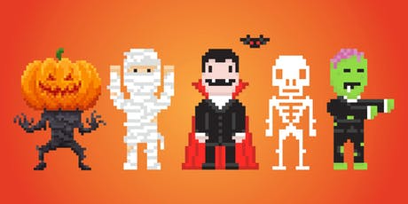 Design Your Own Halloween Pixel Art tickets