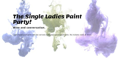 Singles Paint Night  tickets