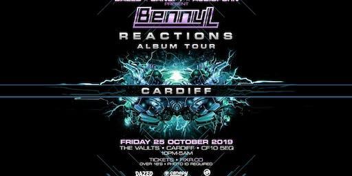 Benny L - Reactions Album Tour - Cardiff