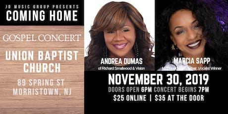 Coming Home Gospel Concert tickets