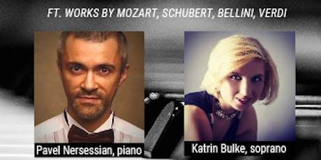 In Recital: Pavel Nersessian, piano & Katrin Bulke, soprano tickets