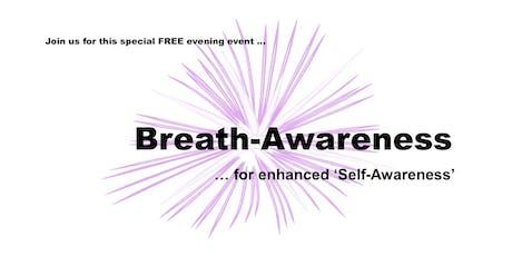 Breath-Awareness - for enhanced Self-Awareness tickets