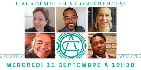 La soirée conférence de Laval ! billets