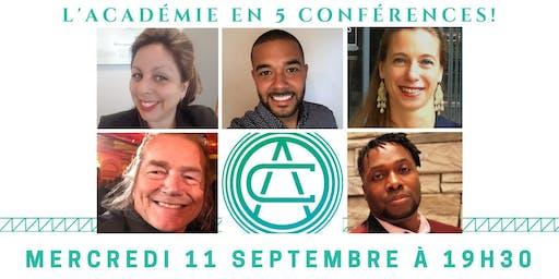 La soirée conférence de Laval !
