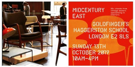 Midcentury East Vintage Interiors Show - Hackney  tickets