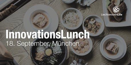 InnovationsLunch, 18. September in München Tickets