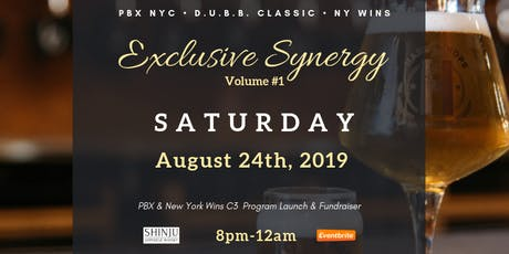 """Inaugural Kickoff to """"Exclusive Synergy"""" at Harlem Hops - Sat, Aug 24 (8pm) tickets"""