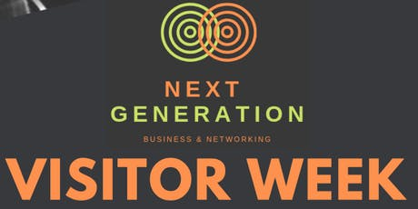 Next Generation Networking - Visitor Week tickets