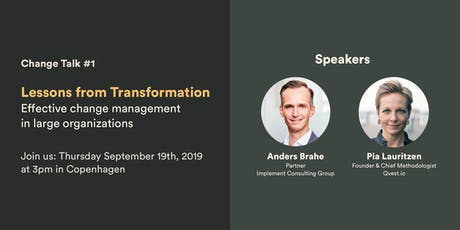 Change Talk #1 – Lessons from Transformation tickets